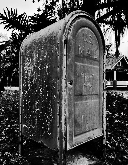 Mail Box Print by David Lee Thompson