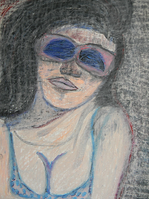 Maine Woman Print by Marwan George Khoury