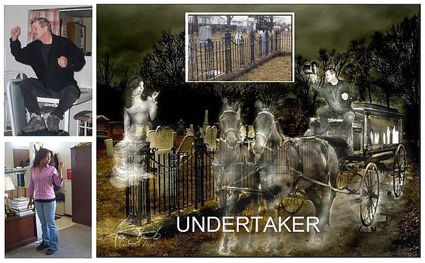 Making The Undertaker Print by Tom Straub