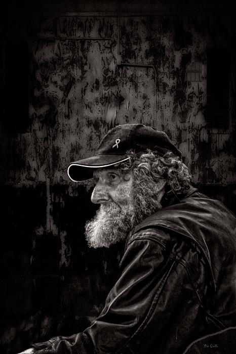 Man With A Beard Print by Bob Orsillo