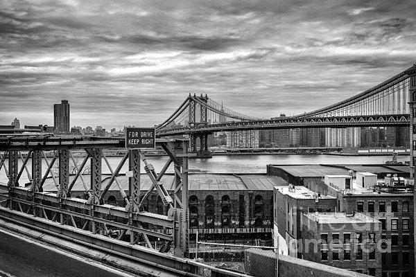 Manhattan Bridge Print by John Farnan