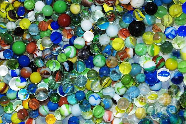 Linda Troski - Marbles Collected