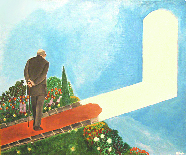 March Of Age Print by Darren Stein