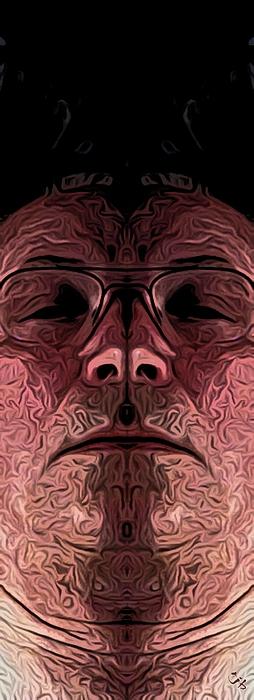 Marked Man Print by Ron Bissett