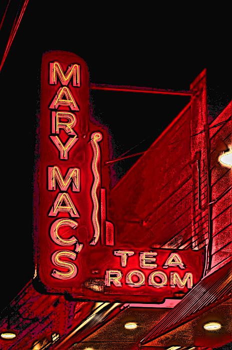 Mary Macs Resturant Atlanta Print by Corky Willis Atlanta Photography