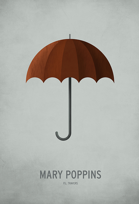 Mary Poppins Print by Christian Jackson