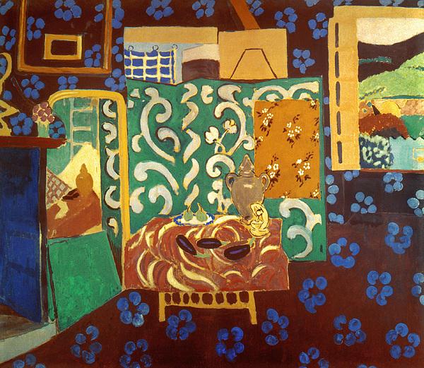 Matisse Interior 1911 Print by Granger