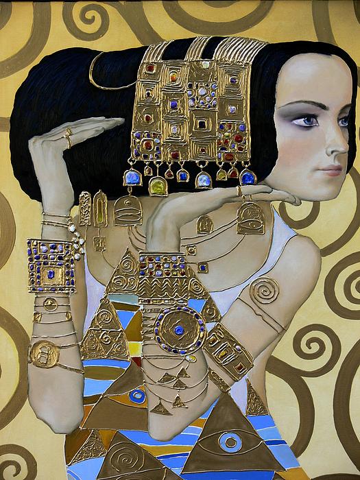 Mavlo - Klimt A Print by Valeriy Mavlo