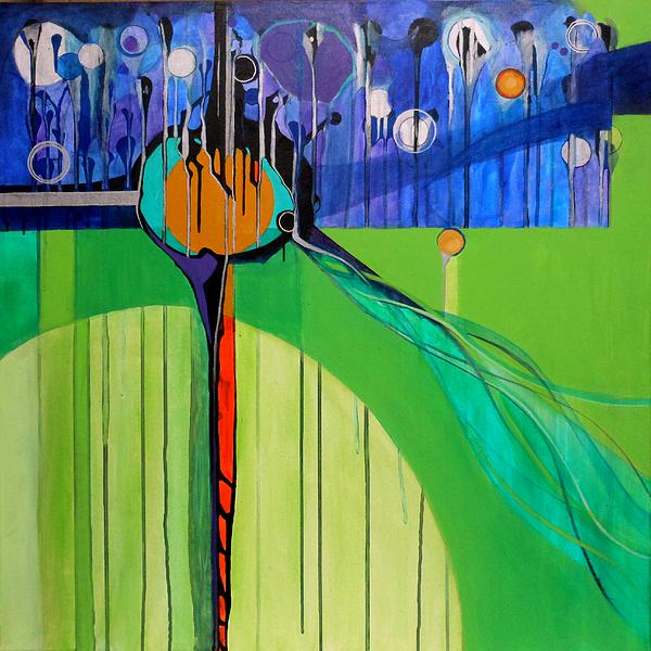 Mazal Tov Print by Marlene Burns