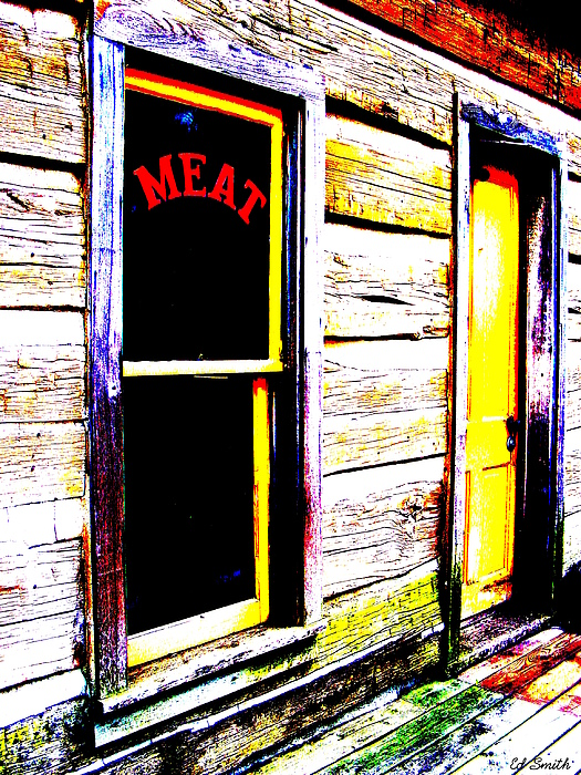 Meat Market Print by Ed Smith