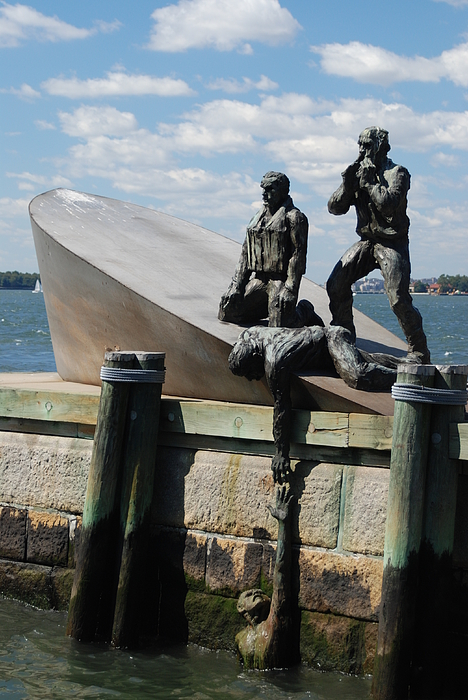 Memorial To Mariners Print by Tony Mills
