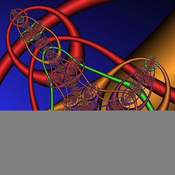 Memory Loops 137 Print by Rolf Bertram