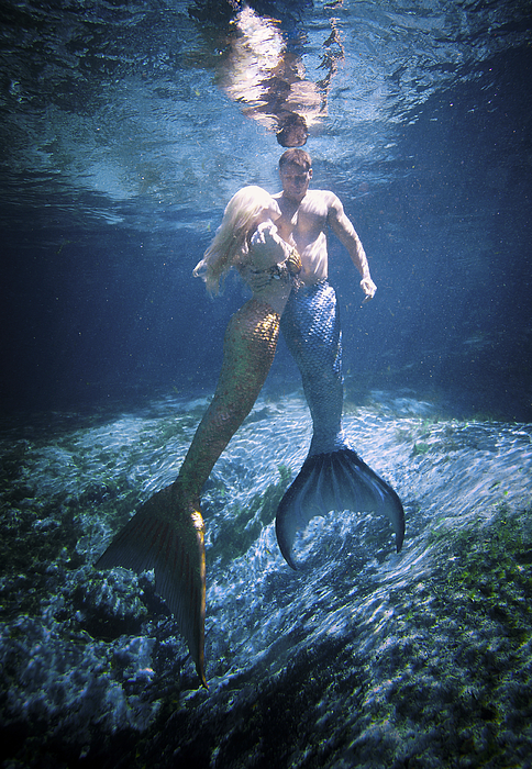 Mermaid And Merman by Steve Williams