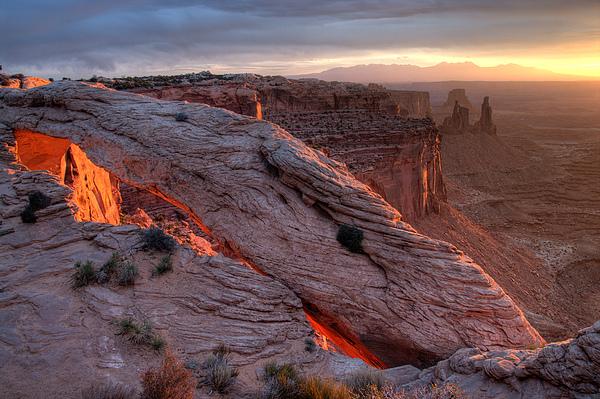 Mesa Arch Sunrise II Print by Jeff Clay