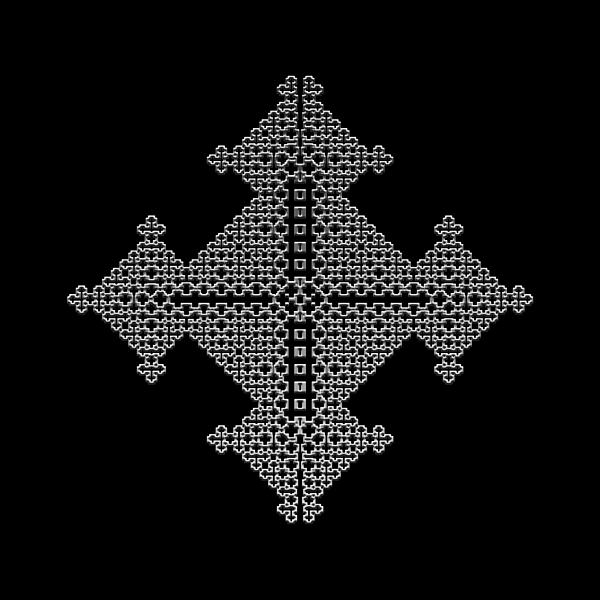 Metallic Lace Bix Print by Robert Krawczyk