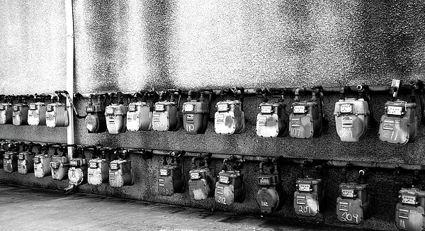 Meter Machines Print by Jera Sky