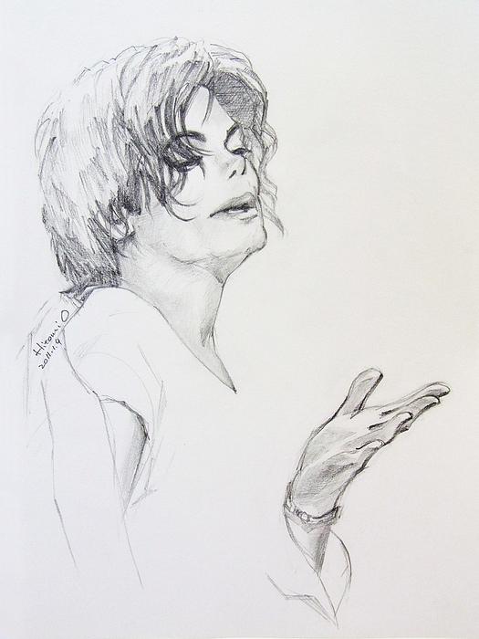 Michael Jackson - In 2001 Ny Print by Hitomi Osanai