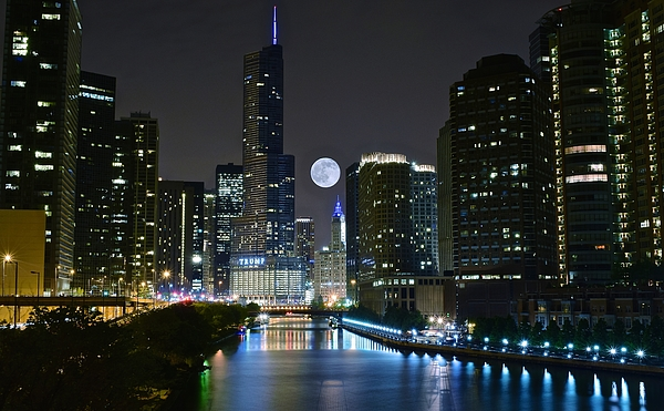 Frozen in Time Fine Art Photography - Midnight in the Windy City
