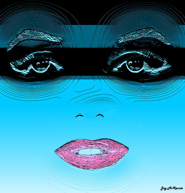 Midnight Swim Print by Joy McKenzie