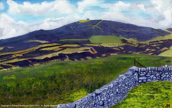 Moel Famau Print by Edward McNaught-Davis