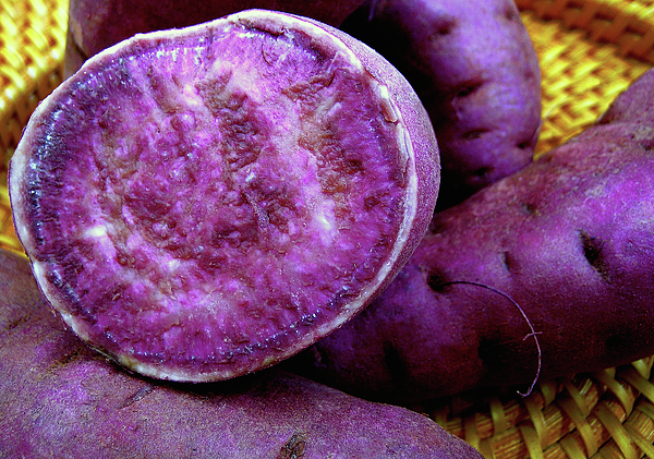 Moloka'i Purple Sweet Potatoes Print by James Temple