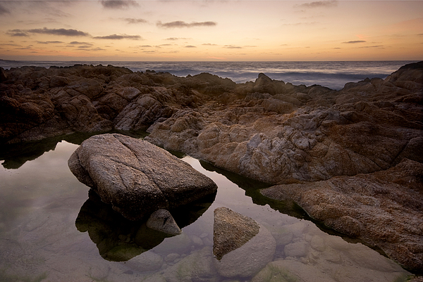 Monterey Sunset Print by Mike Irwin