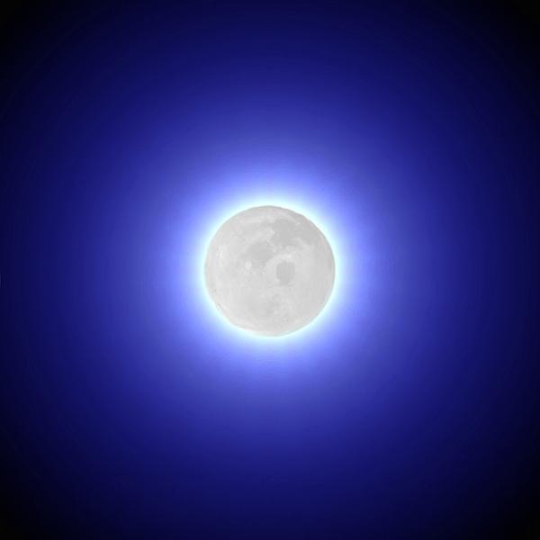 Moon Print by Pet Serrano