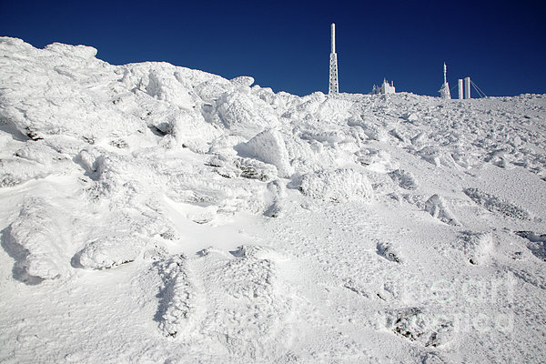 Mount Washington New Hampshire - Rime Ice Print by Erin Paul Donovan