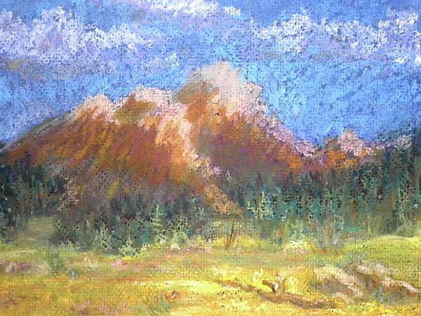 Mountain Meadow 2 Print by Curt Peifley
