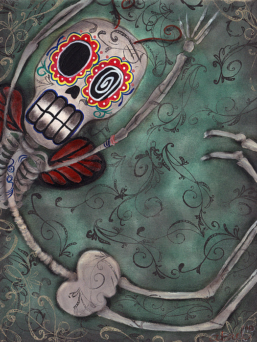 Muerte Fairy Print by Abril Andrade Griffith