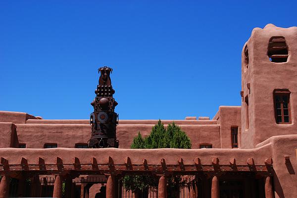 Museum Of Indian Arts And Culture Santa Fe Print by Susanne Van Hulst