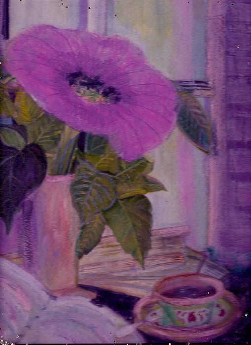 My Cuppa T Print by Anne-Elizabeth Whiteway