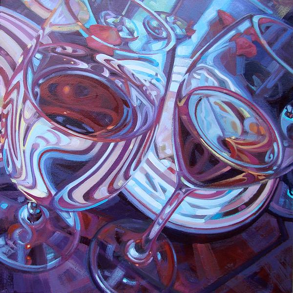 My Swanson Swirls Print by Penelope Moore