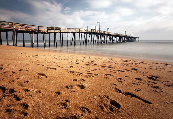Chris babcock artist website for Nags head fishing pier