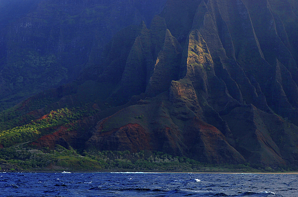 Napali Coast 2 Print by Bob Christopher