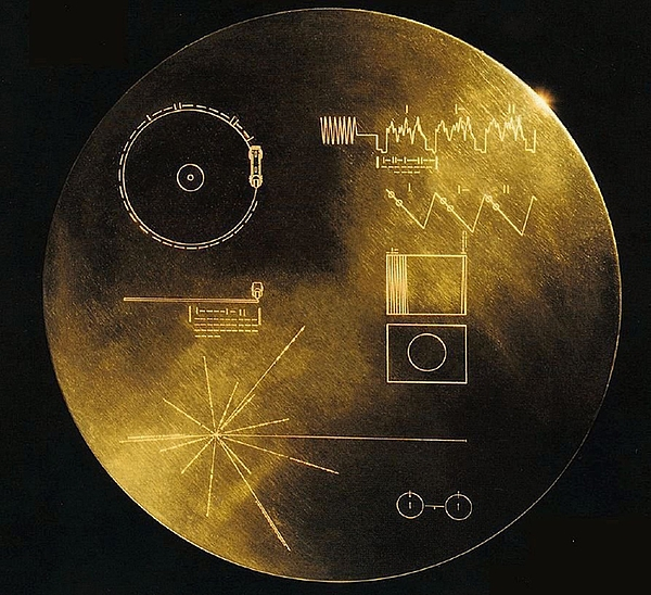 Nasas Voyager 1 And 2 Spacecraft Print by Everett