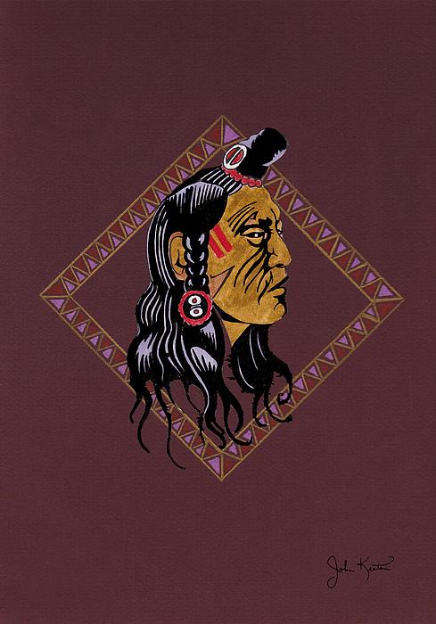 Native American Pride Print by John Keaton