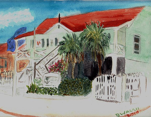 Nautical Museum Georgetown Print by Donna Walsh