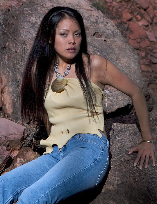Navajo Model Print by Joel Gilgoff