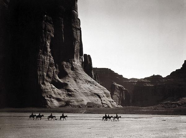 Navajos: Canyon De Chelly, 1904 Print by Granger