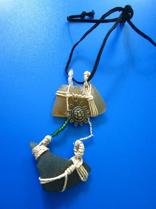Necklace 2 Print by Lorna Diwata Fernandez