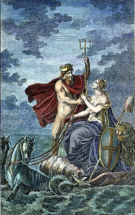 neptune roman god of sea by granger
