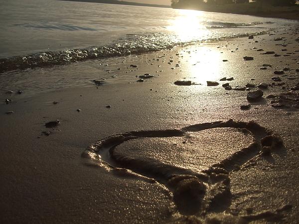Never-ending Love Print by Ali Dover