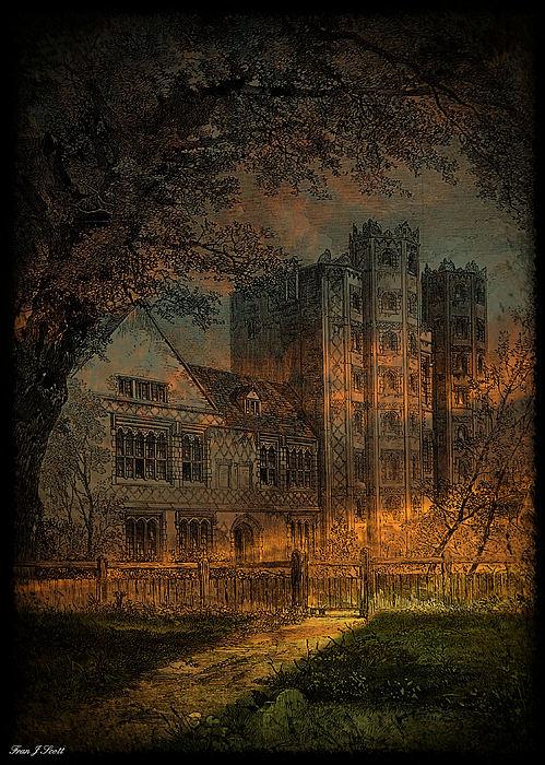 Nevermore Print by Fran J Scott
