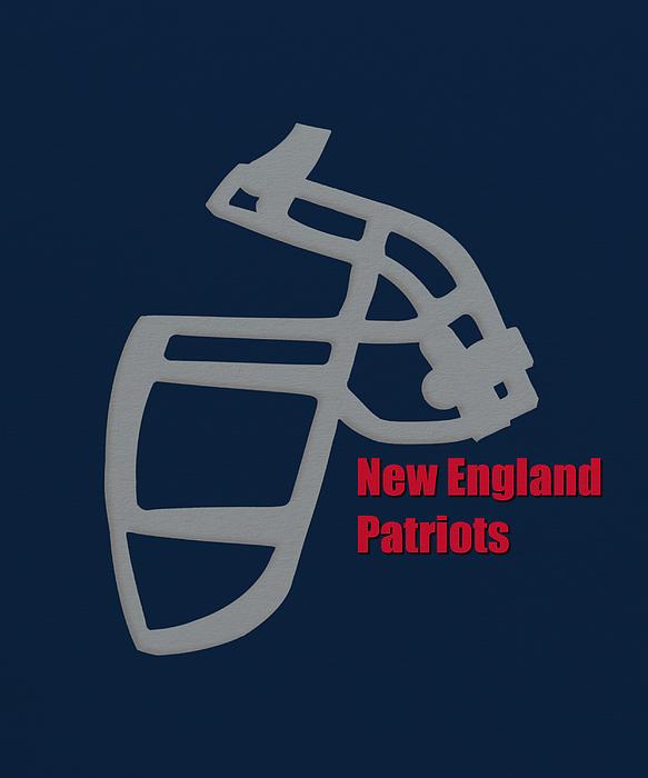 New England Patriots Retro By Joe Hamilton
