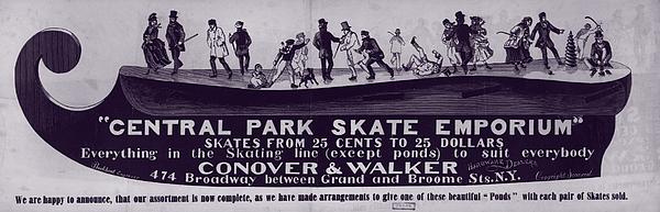 New York City, Illustration Advertising Print by Everett