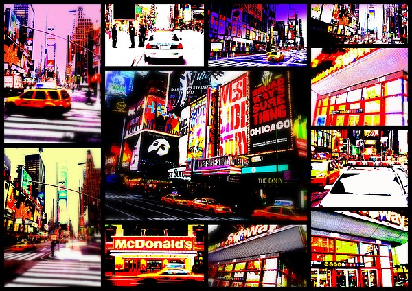 New York New York  Print by Funkpix Photo Hunter