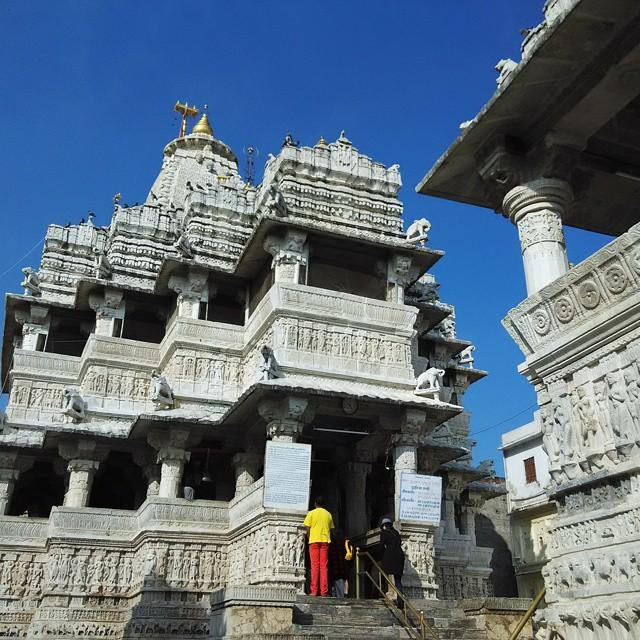 ngma udaipur india temple travel print by devraj verma