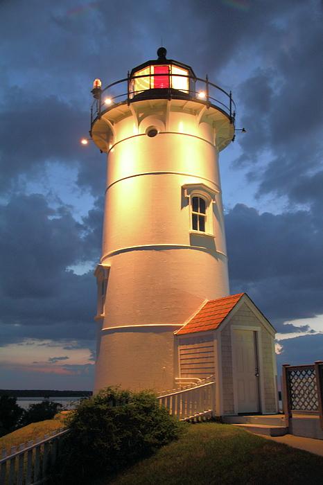 Nobska Point Lighthouse Print by Roupen  Baker