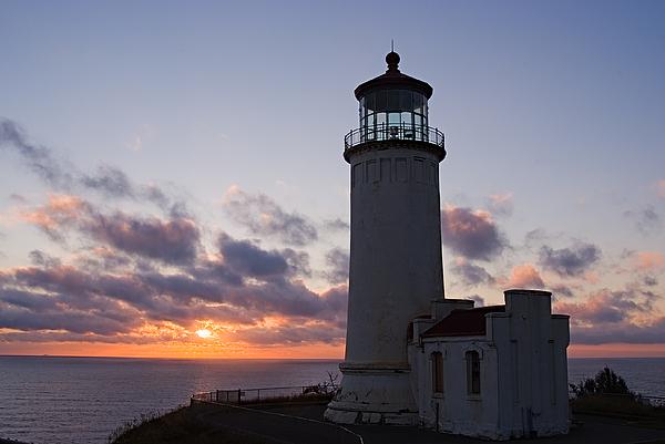 North Head Lighthouse Print by Terry  Wieckert